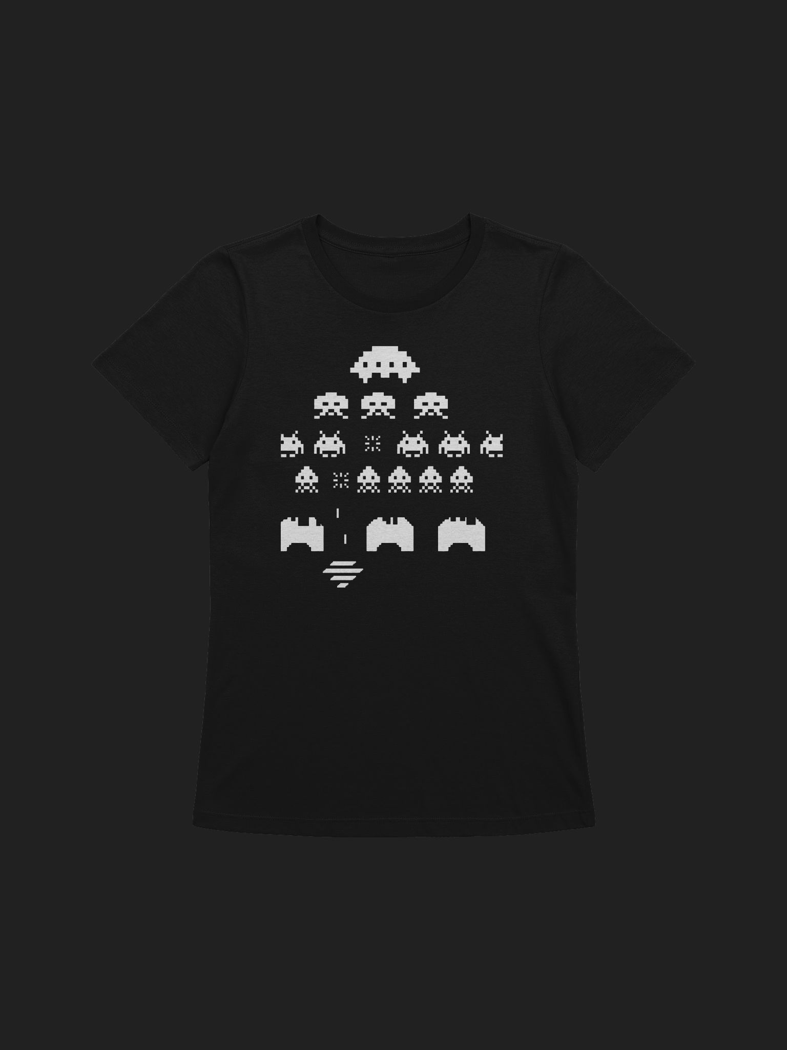 Space Invaders Limited Collection Wmns Shirt product image (1)