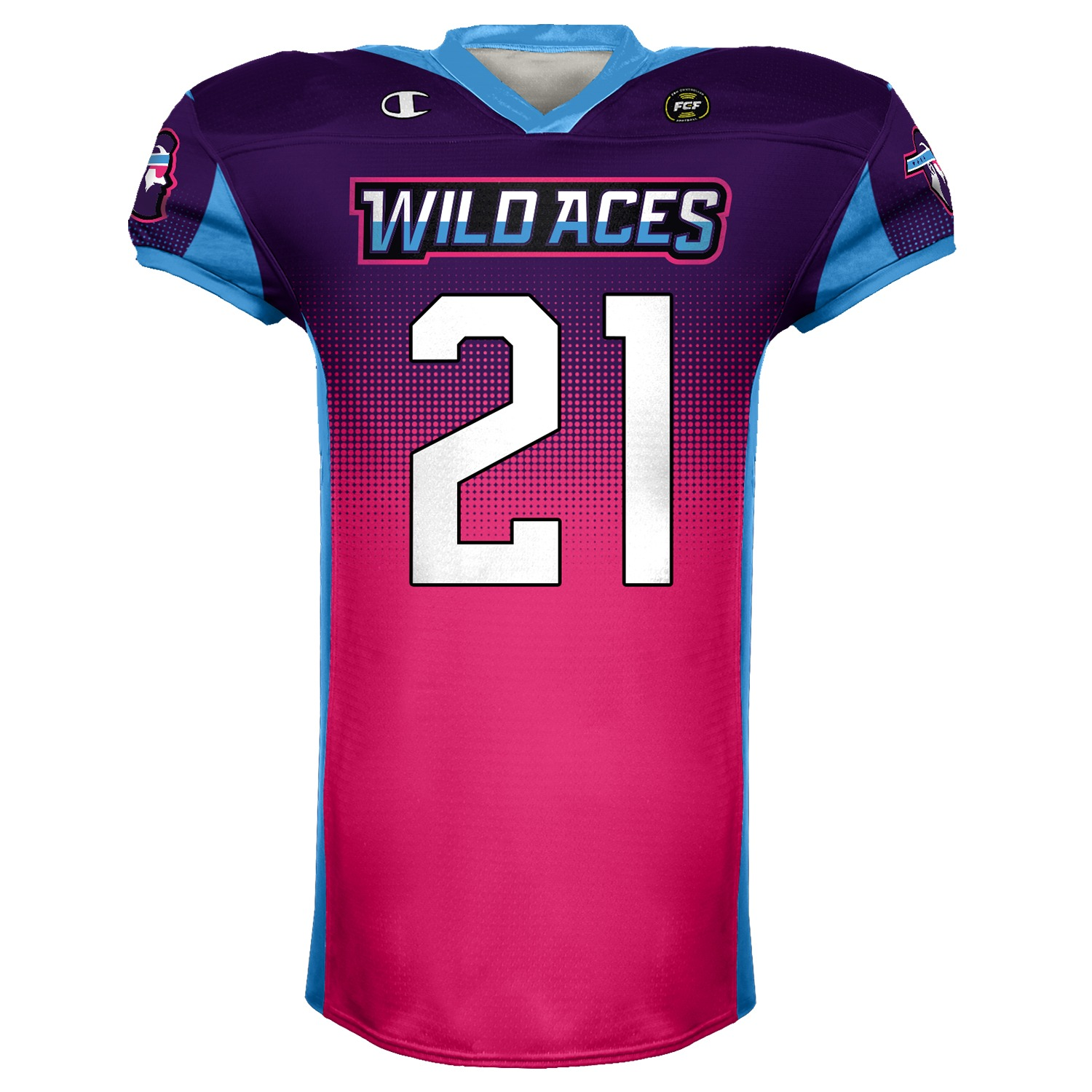 Wild Aces Authentic Champion Jersey product image (1)