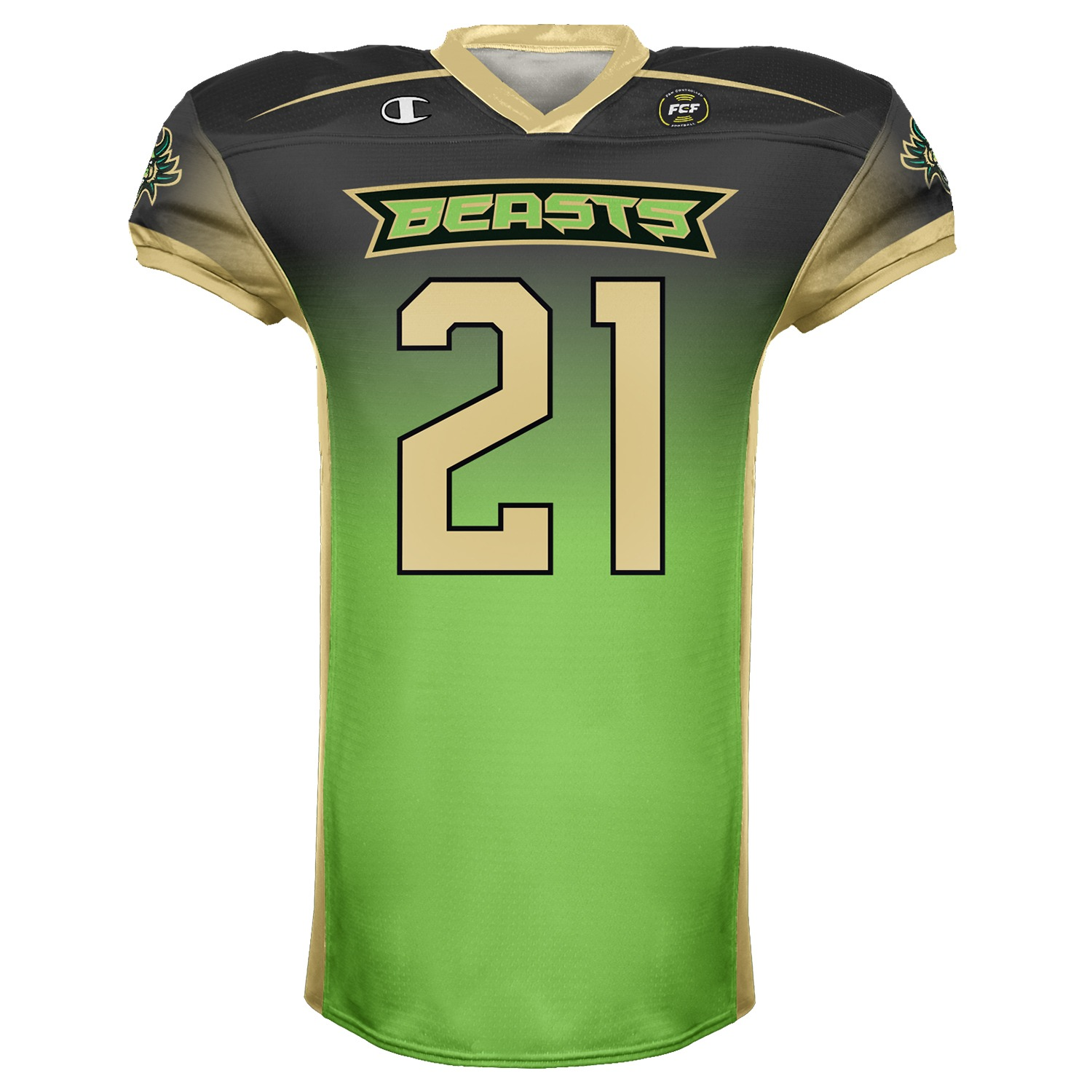 Beasts Authentic Champion Jersey product image (1)