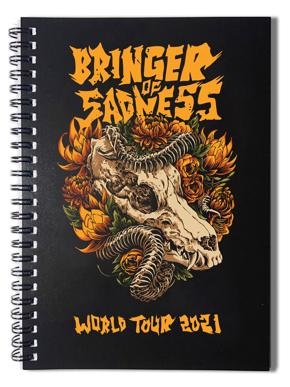 Bringer of Sadness World Tour 2021 Notebook product image (1)