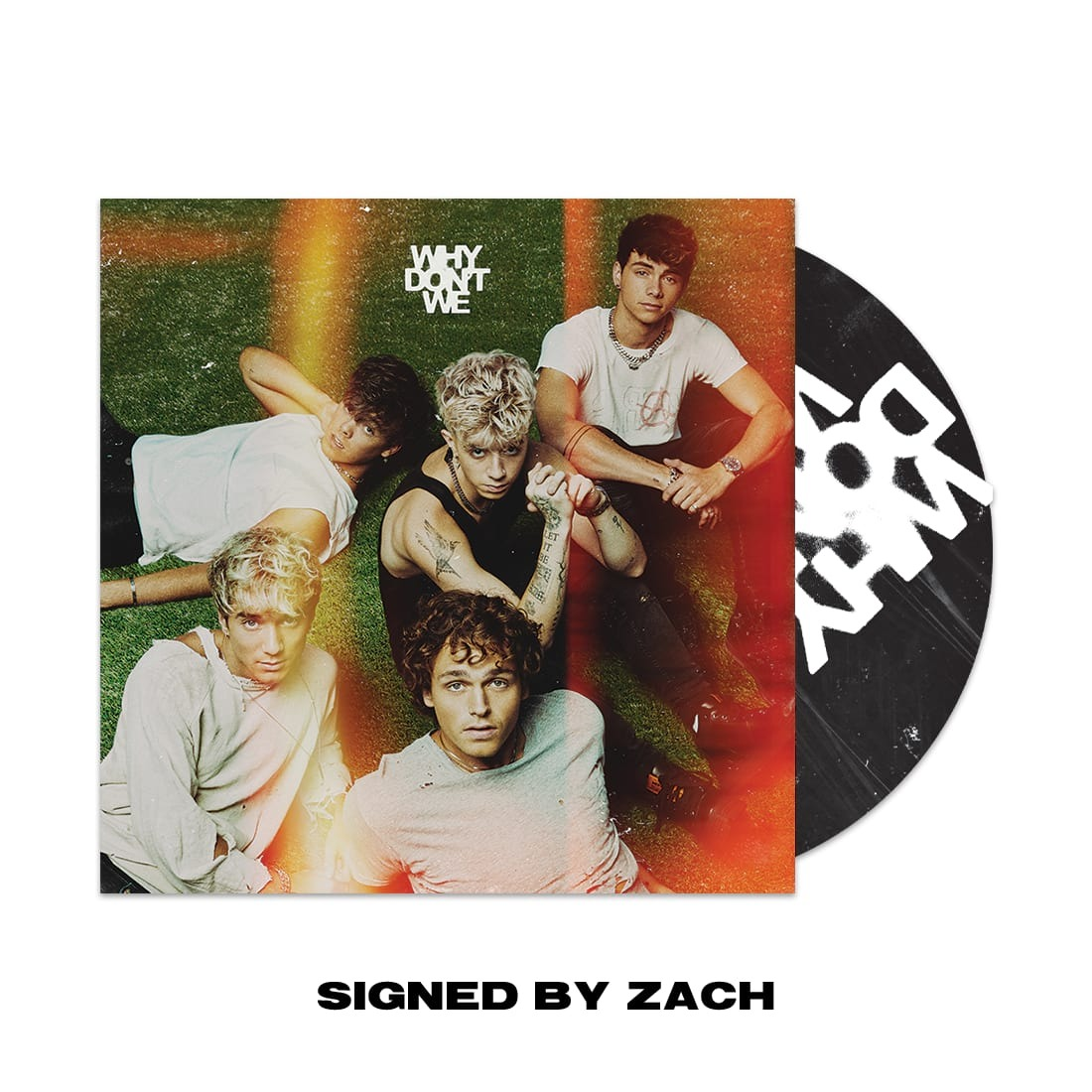 The Good Times And The Bad Ones CD (Signed By Zach Herron) product image (1)