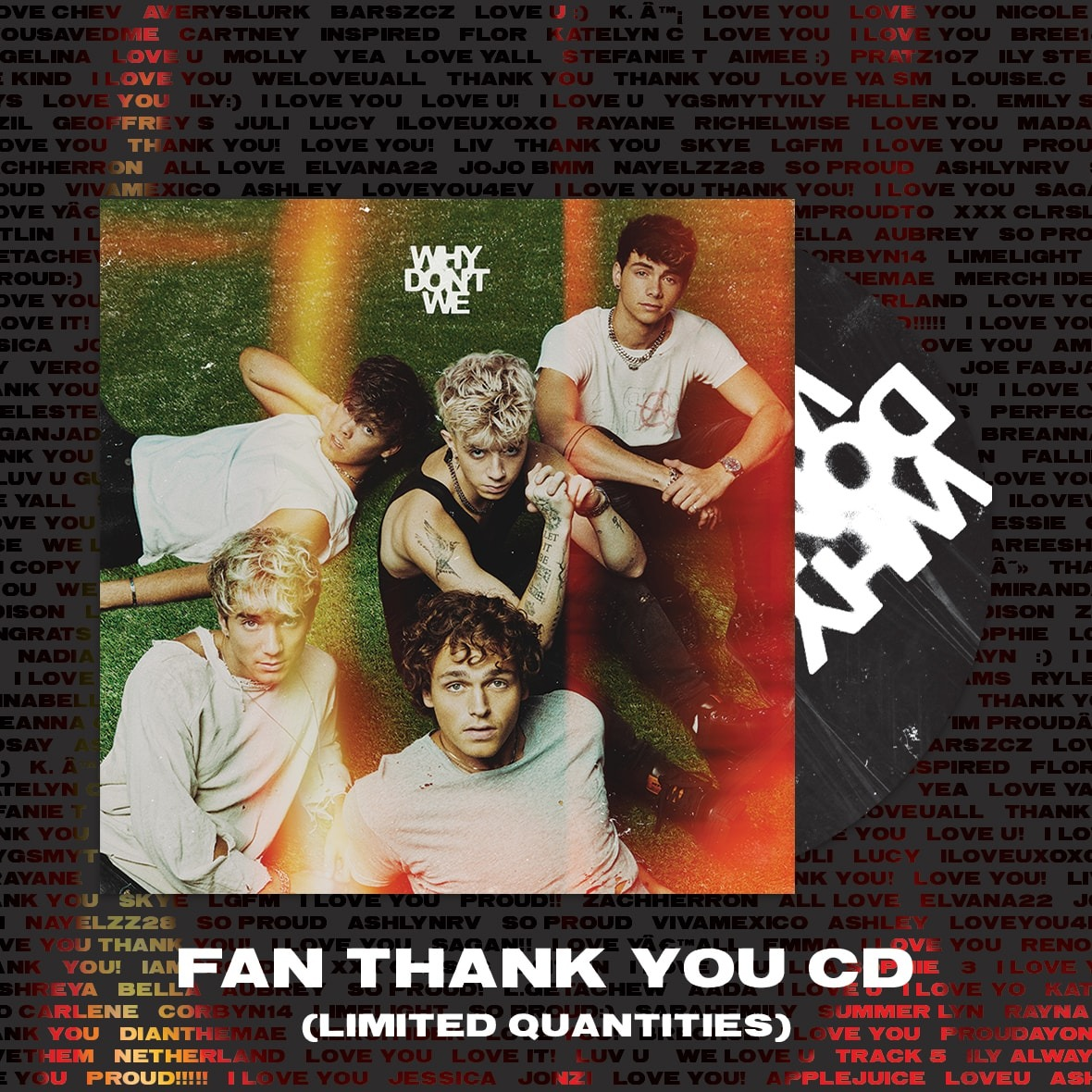 Fan Thank You CD (Limited Offer) product image (1)