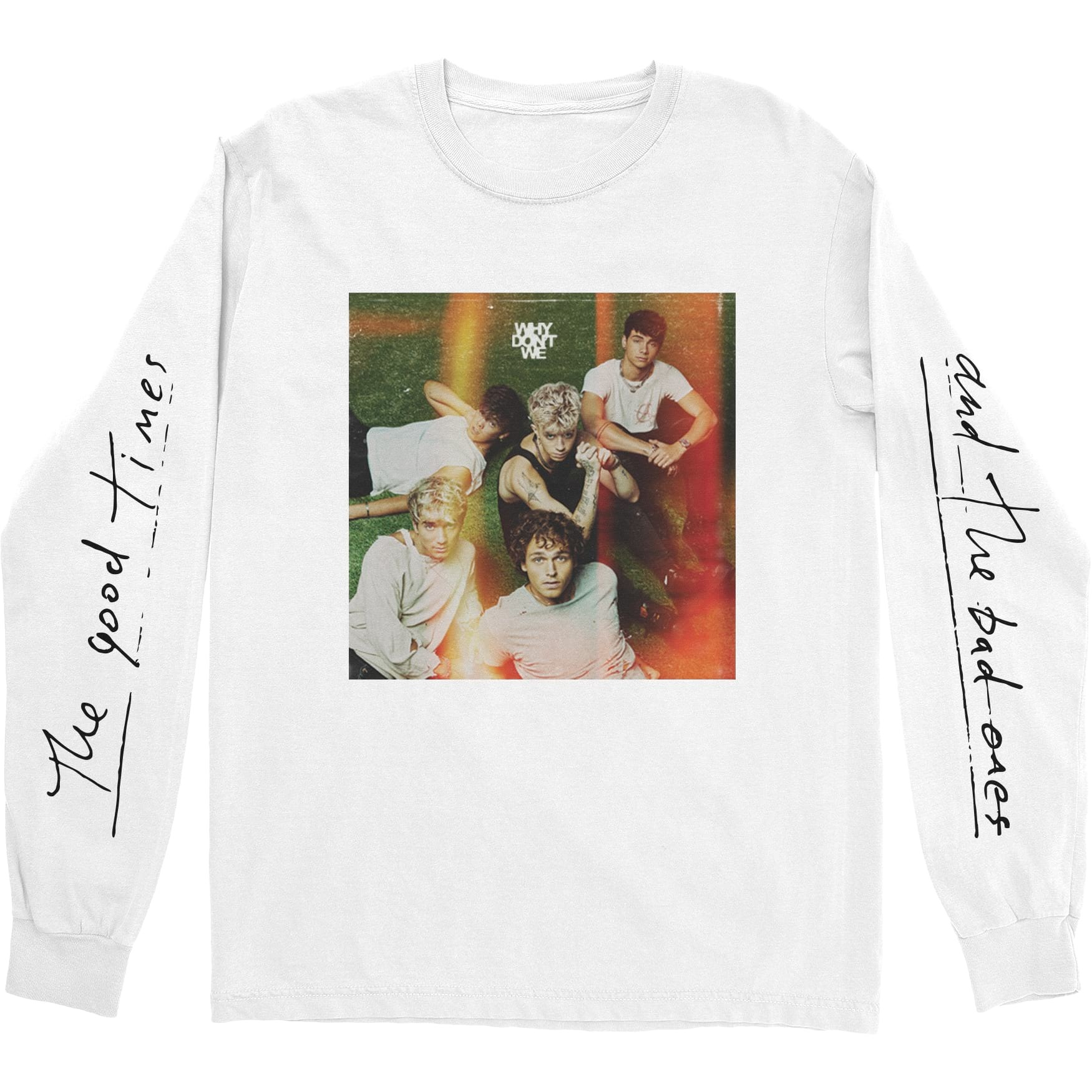 Good Times Cover Long Sleeve T-Shirt product image (1)