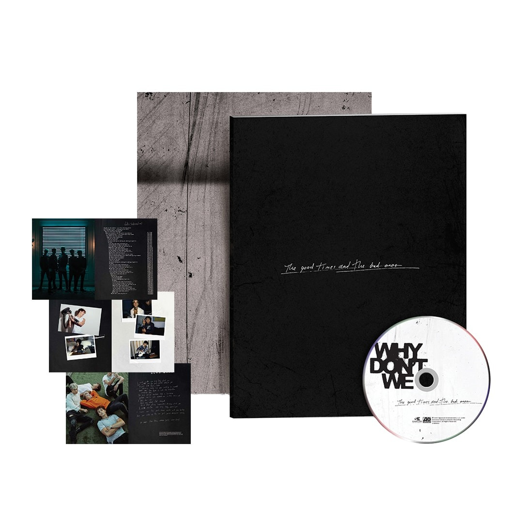 The Good Times And The Bad Ones Zine Collectible CD product image (1)